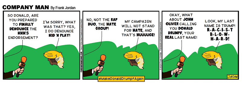 #MakeDonaldDrumpfAgain! 3/1/16