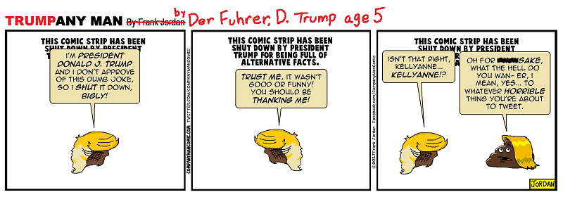 It's #DumbTrumpThursday! 1/26/17
