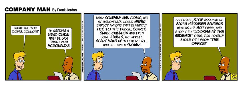 #CompanyManComic, breaking the #4thWall since 2000! 8/8/18
