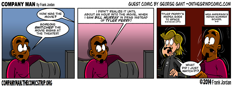 Guest strip week: Geo Gant! 4/2/14