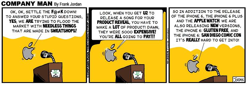 Apple makes an impact! 9/10/14
