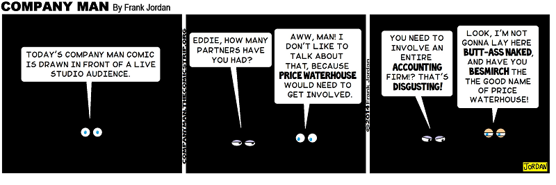 """I finally used """"BESMIRCH"""" in a #COMICSTRIP!"""