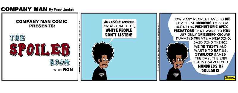 It's The Spoiler Room: #JurassicWorld 6/8/15