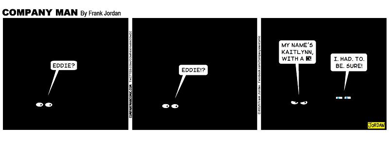 Oh that Eddie! 6/5/15
